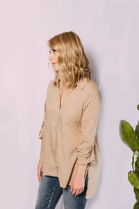 Fran Basic Button Down