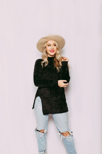 Black Betty Cozy Sweater