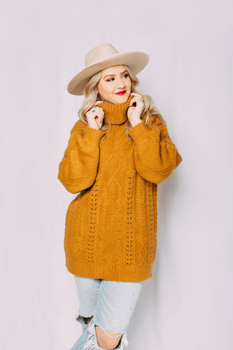 Alex Oversized Nordic Sweater
