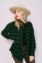 Grunge Girl Flannel