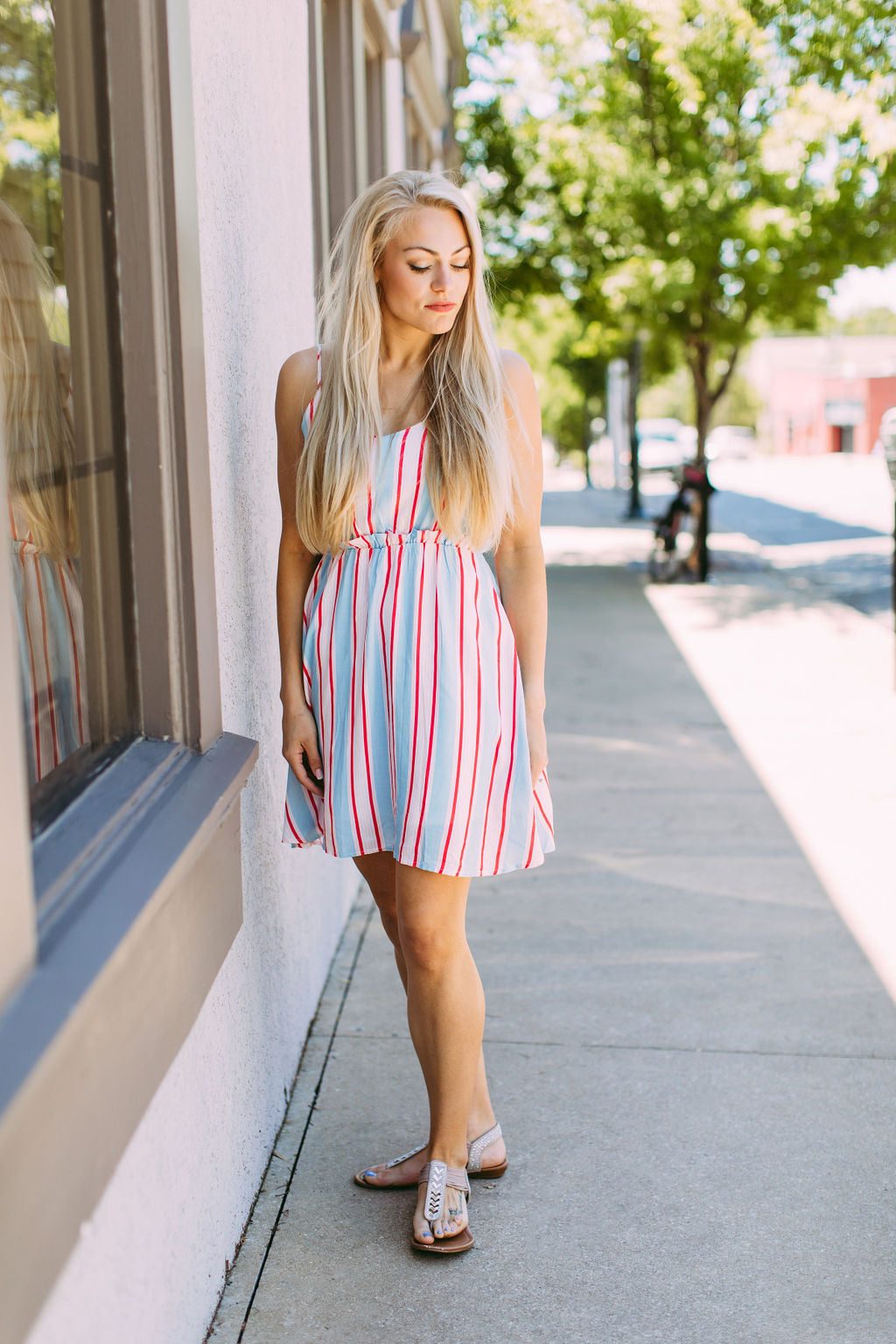 Kayla Striped Dress