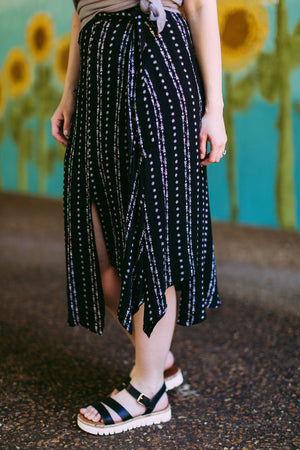 Arrow Midi Skirt