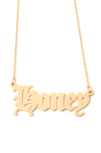 Honey Honey Necklace