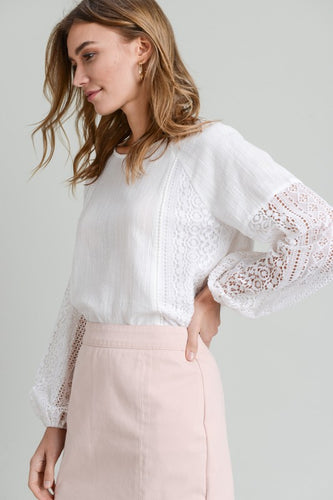 Lillian Lace Top