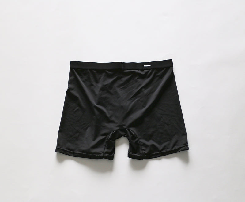 Comfortable light mens polyester boxer brief