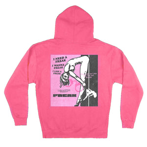 SEX SELLS Hoodie - Red Print