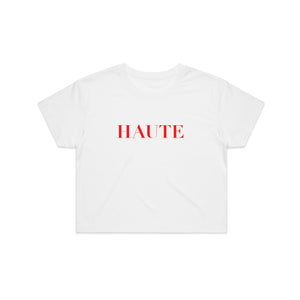 Haute White Crop Top + Legendary Digital Download