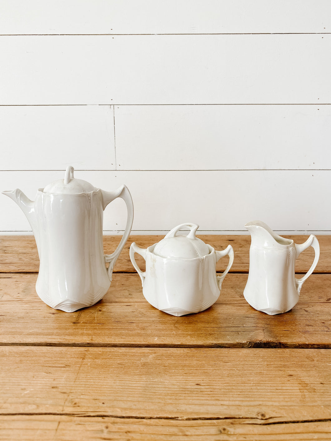 delicate tea set