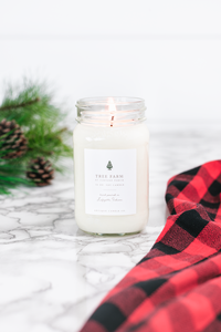 tree farm by vintage porch 16oz candle