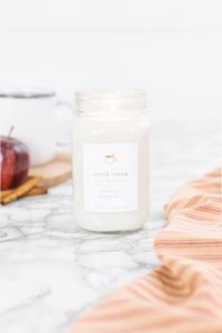 apple cider 16oz candle