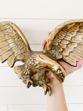 Load image into Gallery viewer, large brass eagle