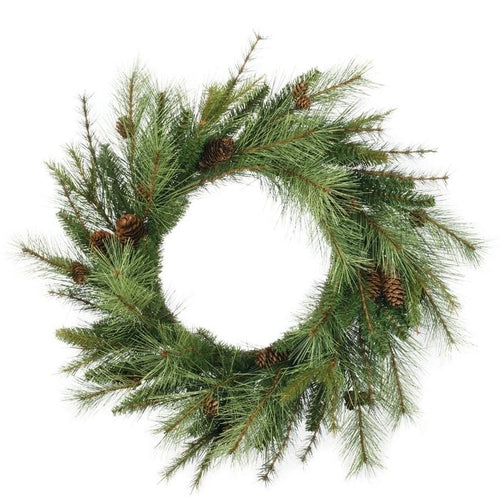 large mixed pine wreath