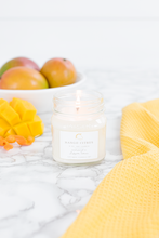 Load image into Gallery viewer, mango citrus 8oz candle