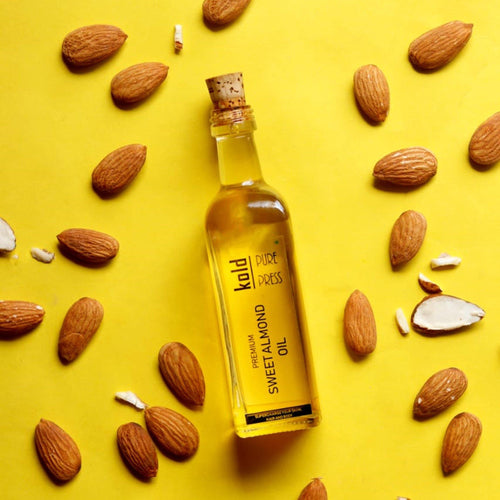 Virgin Sweet Almond Oil - Kold_PurePress