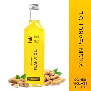 Virgin Peanut Oil (Groundnut Oil) - Kold_PurePress