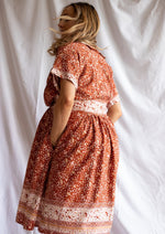 Lila Dress in Clay