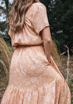 Aura Dress in Golden Earth