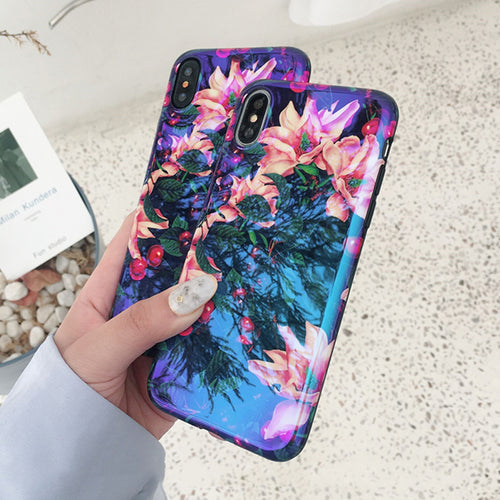 Iridescent Flower Phone Case