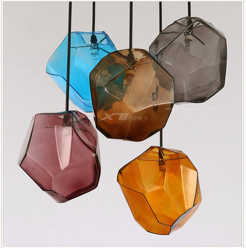 Art Deco Glass Pendant Light