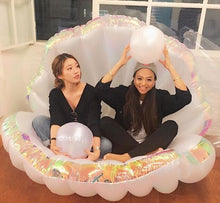 Giant Inflatable Holographic Shell Pool Float