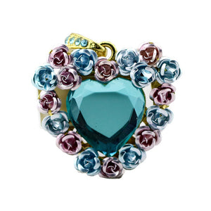 Heart Shaped Pendrive Pendant