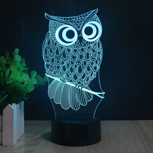 Owl 3D Novelty Lighting