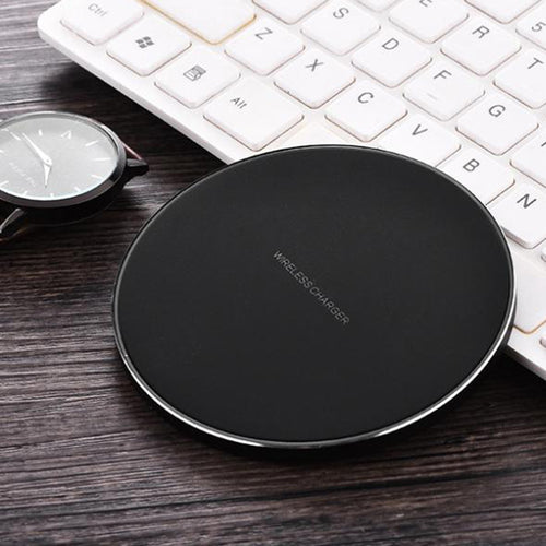 Ultra Thin Portable Qi Fast Wireless Charger