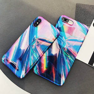 Rainbow Holographic Iridescent for iPhone