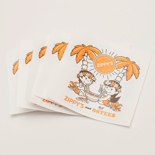 Zippy's X 88Tees Sticker