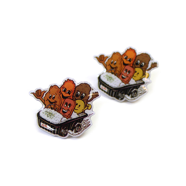 Zippy's X In4mation® Pin