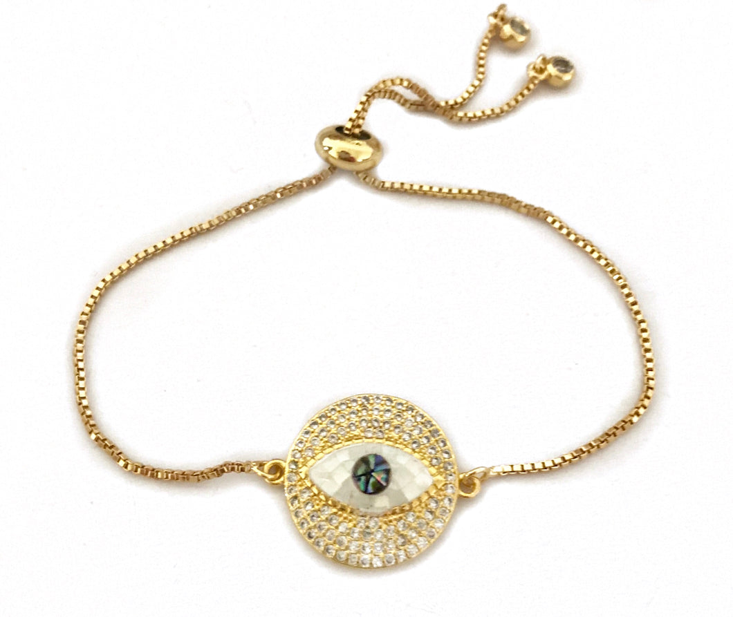 Eye want you Gold bracelet