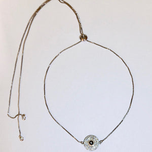 Eye need you Silver necklace