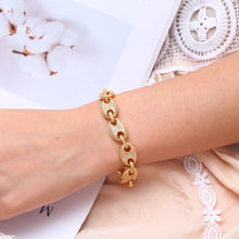 Coffee Bean Gold bracelet
