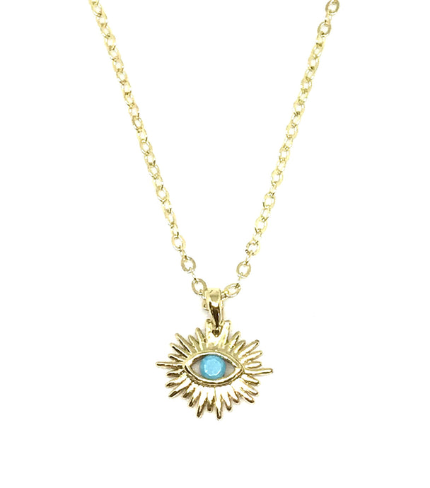 Blessed eye mini necklace