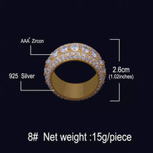 Gold deluxe ring