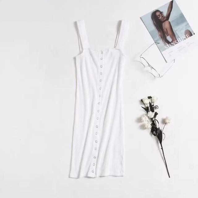 Brooklyn Dress | Ivory