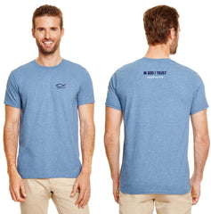 Flagship T-Shirt  Small Print on Back  (Carolina Blue)