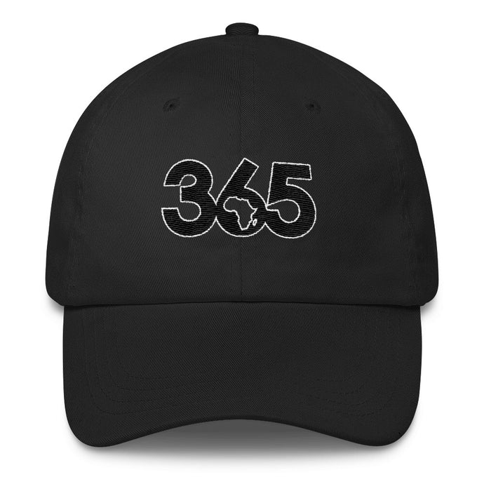 Black 365 Hat w/ White