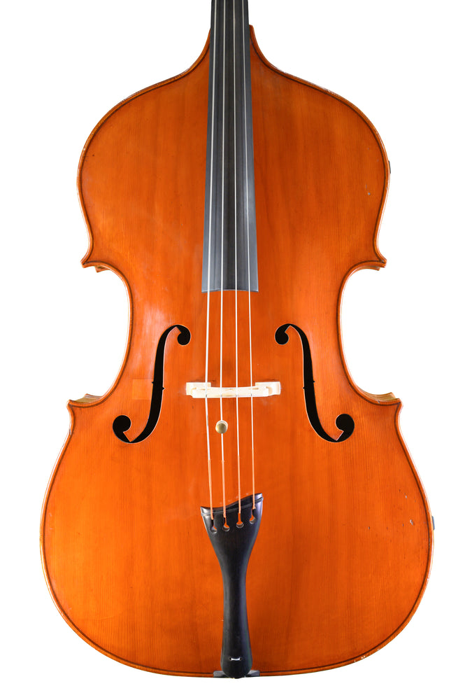 English Double Bass by Ron Prentice, Enfield, Middlesex, England anno 1967 – Review
