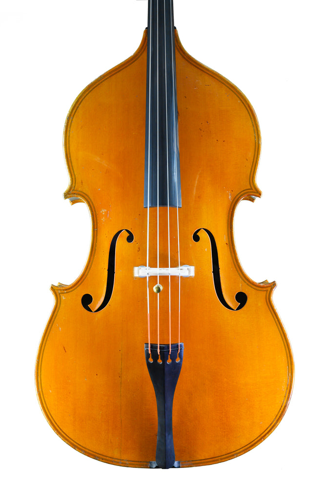 Cremona School Double Bass by István Kónya, Hungary anno 1983 – Review