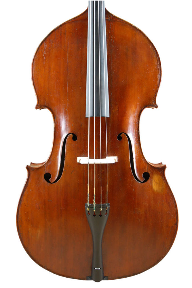French Double Bass by Paul Claudot, Mirecourt circa 1850 – Review
