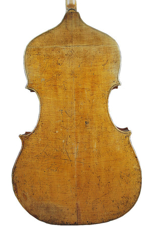 "The ""Ex Royal Artillery"" Double Bass by John Frederick Lott Jnr. circa 1840"