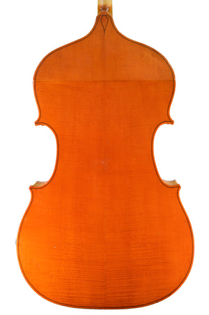 English Double Bass by Ron Prentice, Enfield, Middlesex, England anno 1967