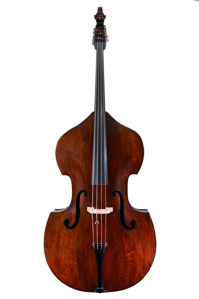 English Double Bass by Tom Nuttall, Bolton, Lancashire circa 1910