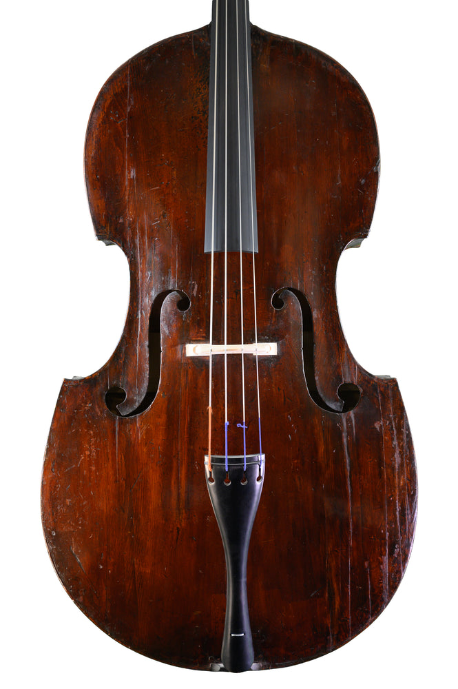The Ex-Richard D. Hart Double Bass by William Gledhill, Leeds anno 1828