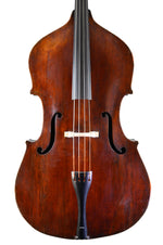 English Double Bass by J. Walker, London anno 1884