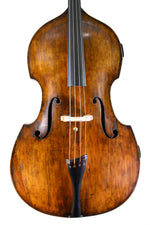 English Double Bass by William Calow, Nottingham circa 1870