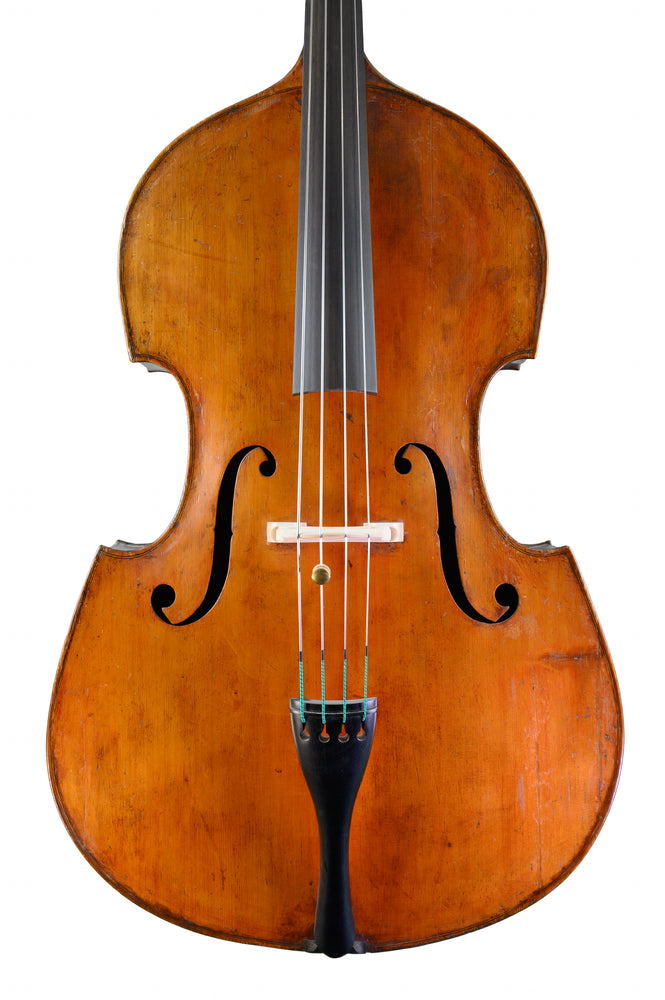 The Ex-Mike Wright Double Bass by John Wm. Mortimer, Cardiff anno 1909