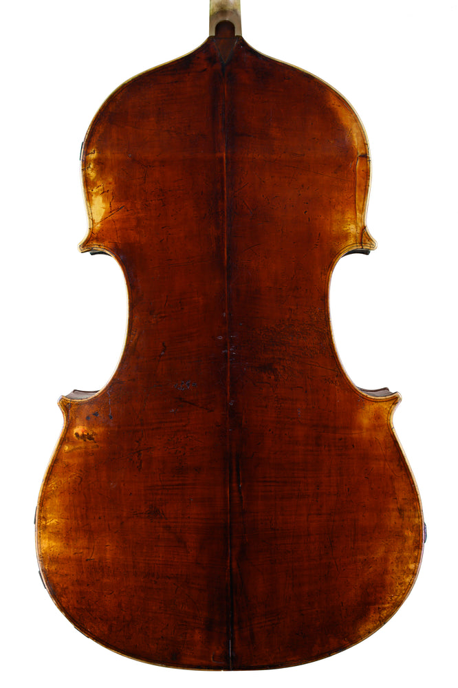 "The ""Hegner"" Double Bass by Alfred Nilsson Brock, Stockholm anno 1903"