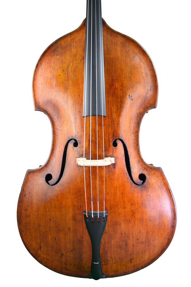 English Double Bass by William Howarth, Manchester anno 1894